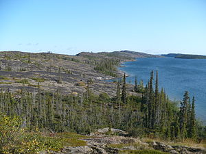 Great Slave Lake - Image: Utsingi Point Great Slave Lake