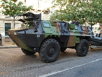 Véhicule de l'Avant Blindé, VAB 4x4, army licence registration 6883 0171 photo-2.JPG