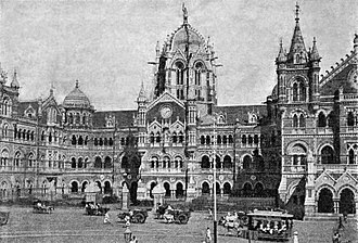 National Academy of Indian Railways - Chatrapati Shivaji Terminus Mumbai designed By F. W Stevens