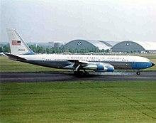 Il 707 rinominato VC-137 impiegato come Air Force One