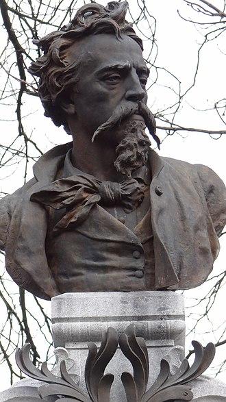 Jean-Baptiste Carpeaux - Image: Valenciennes Cimetière des Prix de Rome Jean Baptiste Carpeaux (2)