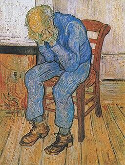 Van Gogh - Trauernder alter Mann