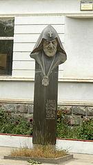 Bust of Vazgen I  in Vanadzor