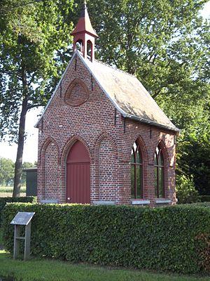 Moerbrugge - Veldkapel or Beverhoutsveldkapel near Moerbrugge (Veldstraat - Beverhoutstraat).