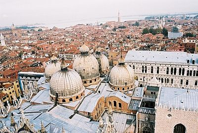 Venice and St. Mark's Basilica from the Campanile