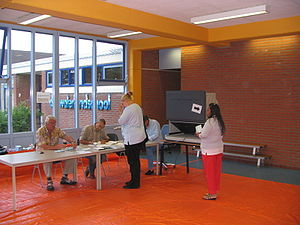 European Parliament election, 2004 - Voting in the election, in the Netherlands