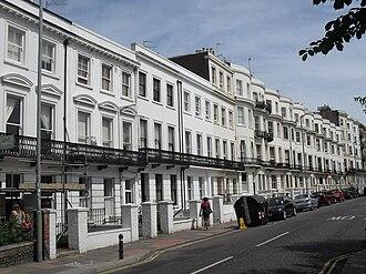 Vernon Terrace, Brighton - Vernon Terrace from the south-southeast