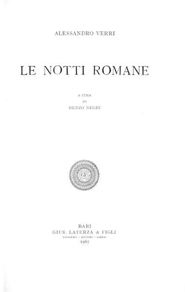 File:Verri, Alessandro – Le notti romane, 1967 – BEIC 1958204.pdf