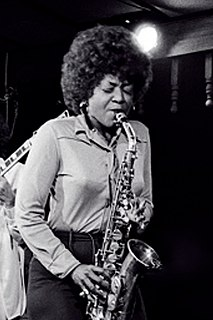 American jazz altosaxophonist, singer and educator