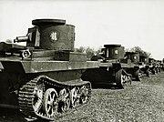 Vickers Carden Loyd Light tanks