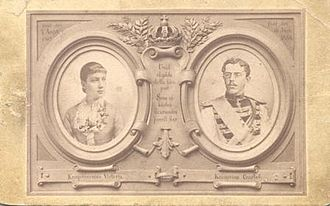 Victoria of Baden - Victoria and Gustaf of Sweden