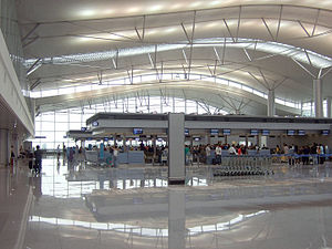 Tan Son Nhat International Airport - Check-in desks at terminal 2, Tan Son Nhat International Airport