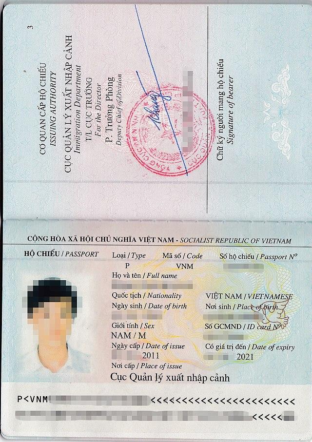 Vietnamese Passport Vietnamese - Wikiwand Passport - Wikiwand Passport Vietnamese - Wikiwand