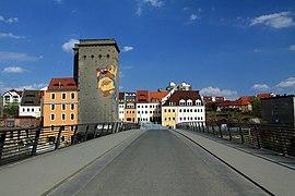 View from Altstadtbrücke Görlitz to Zgorzelec in spring 2013 (2).JPG