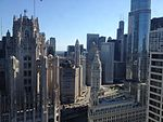 View from Intercontinental Hotel Chicago (7536081612).jpg