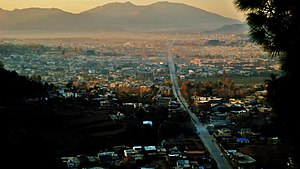 Abbottabad - View of Abbottabad from Shimla Hill