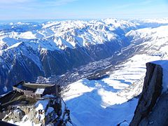 View of Chamonix North from the summit - panoramio.jpg