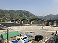 View of Tenshu of Iwakuni Castle and Kintaikyo Bridge 3.jpg