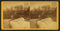 View of a Cabin, Pond, and Dam, Fisherville, N.H, by Lamprey, M. S. (Maurice S.).png