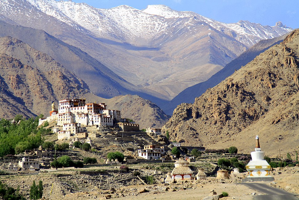 View of the Lakir Monastery