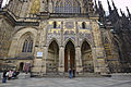 View of the south facade of St. Vitus Cathedral, 2014-03-06.jpg
