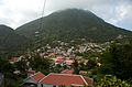 View over Windwardside and Mt Scenery, Saba.jpg