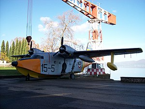 Vigna di Valle 20110812 — Grumman HU-16 Albatross — MM 50-179.jpg