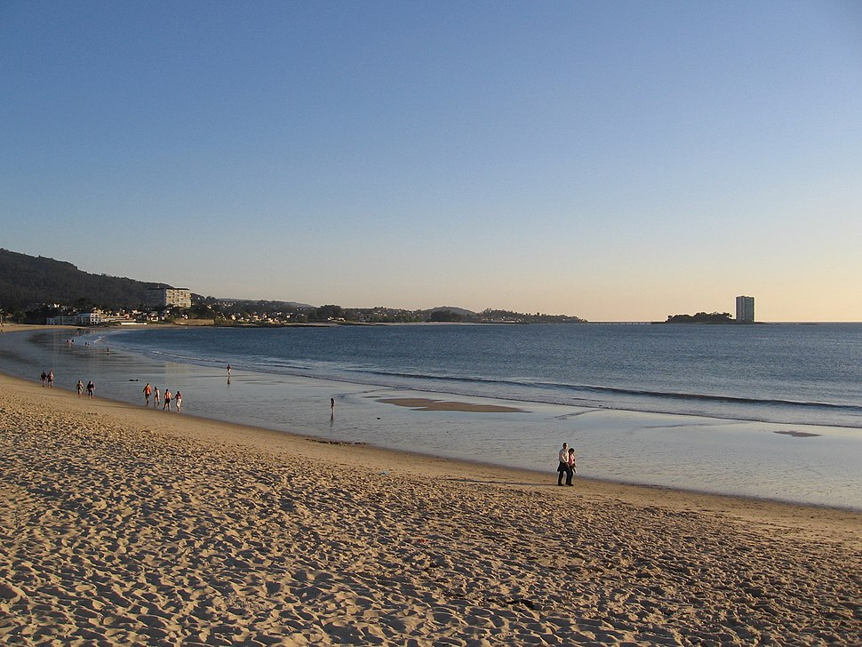Vigo praia de samil