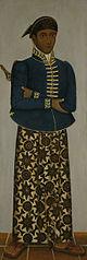Vijf Javaanse hoffunctionarissen