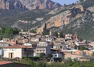 Vilanova de Meià Municipality in Catalonia, Spain