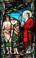 Villeréal - Église Notre-Dame - Vitrail avec apparitions -2.jpg