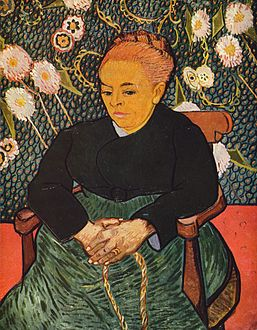 La Berceuse (Augustine Roulin) 1889, Museum of Fine Arts, Boston