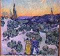 Vincent van gogh, passeggiata al crepuscolo, 1889-90, 03.JPG