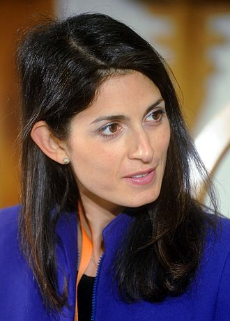 Mayor of Rome - Image: Virginia Raggi Festival Economia 2016