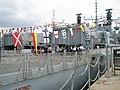 Visitors enjoy a tour of HMS Richmond - geograph.org.uk - 900535.jpg