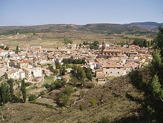 Rubielos de Mora - Image: Vista de Rubielos de Mora