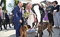 Vladimir Putin at the wedding of Karin Kneissl (2018-08-18) 01.jpg