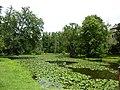 Vodní hrad Blatná , park.jpg