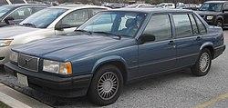1992-1993 Volvo 940 sedan (US)
