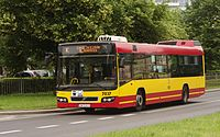 Volvo 7700 in service for MPK Wroclaw (Poland, June 2012).jpg