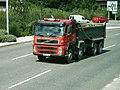 Volvo FM Burcombe Haulage WK07FDD.jpg
