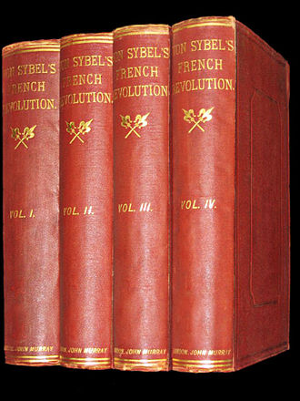 Heinrich von Sybel - Von Sybel's French Revolution. First English edition by John Murray, London (1867)