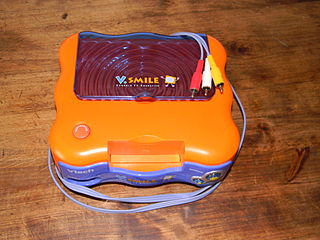 V.Smile educational home video game console released by VTech in 2004