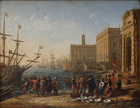 Vue d'un port avec le Capitole by Gelée Louvre INV4712 n01.jpg