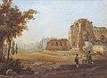 Vue du forum de Rome by Rudolf Wiegmann 1834.jpg