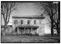 WEST (FRONT) SIDE - Rural Mount, State Route 160 vicinity, Morristown, Hamblen County, TN HABS TENN,32-MORTO.V,2-5.tif