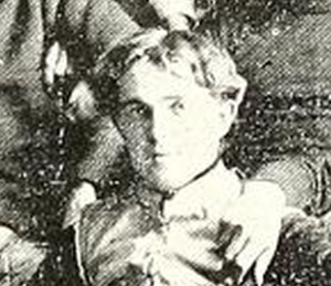 W. H. Lyon - Lyon pictured in Cream and Crimson 1896, Central yearbook
