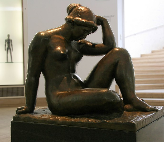 Bestand:WLANL - Quistnix! - Museum Boijmans van Beuningen - La Mediterranee, Artistide Maillol.jpg