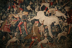 Scottish Royal tapestry collection - Scene from The Hunt of the Unicorn Metropolitan Museum of Art, New York