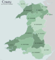 Wales Traditional Counties WELSH.png
